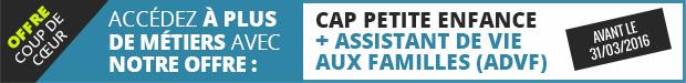 Préparation CAP Petite Enfance + ADVF
